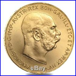 100 Corona Austrian Gold Coin (Random Year)