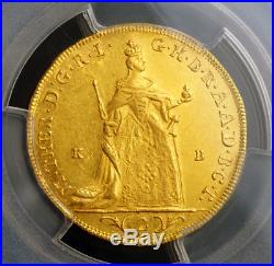 1765, Kingdom of Hungary, Maria Theresa. Gold 2 Ducats Coin. PCGS MS-61