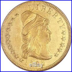 1795 $10 9 Leaves Gold Draped Bust NGC MS 61 Rare Coin Rare Coin