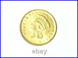 1862 America US One Dollar $1 Coin 15mm 1.6 grams #M4