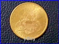 1900 United States, Liberty Head, $20, Double Eagle 1oz gold coin