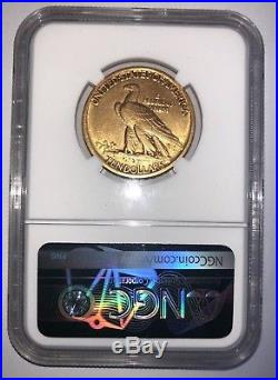 1907 $10 Indian NGC AU Details No Motto Gold Coin