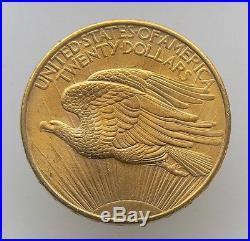 1908 $20 Dollar Saint-gaudens Double Eagle Gold Coin No Motto