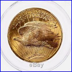 1923-D St Gaudens $20 PCGS Certified MS66 High End Premium Quality Gold Coin