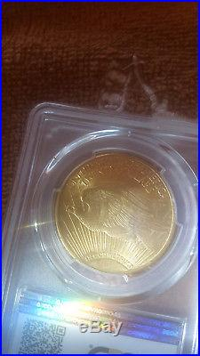 1924 $20 St Gaudens Gold Coin Pcgs Ms 66 Plus Double Eagle. Best Graded Ms66
