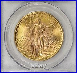 1926 $20 Saint Gaudens Double Eagle Gold Coin PCGS MS64