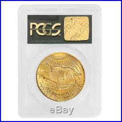1928 $20 Gold Saint Gaudens Double Eagle Coin PCGS MS 64