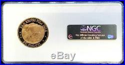 1969 Gold Lesotho 20 Maloti F. A. O. Ewe & Lamb Coin Ngc Proof 67 Ultra Cameo