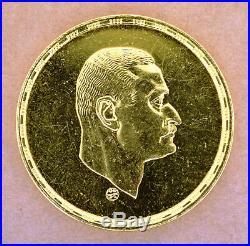 1970 Egypt Egipto Ägypten Gold Coins President Nasser 5 Pounds