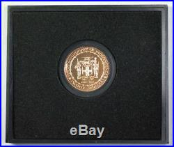 1972 Jamaica $20 Dollar Proof Gold Coin 10th Anniversary of Independence With COA