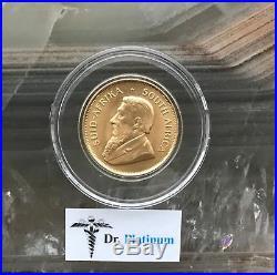 1981 Krugerrand, South Africa, 1/2 oz Fine Gold Coin DPGC13