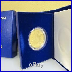 1987-W American Eagle One Ounce Proof Gold Bullion Coin $50