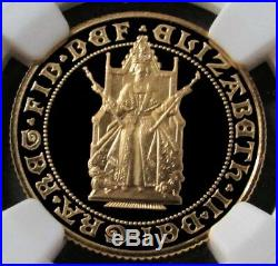1989 Gold Great Britain 1 Sovereign Proof Anniversary Coin Ngc Pf 69 Ultra Cameo