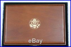 1992 Columbus Quincentenary Six Coin Silver & Gold Set 3 Proof 3 UNC In OGP JAH