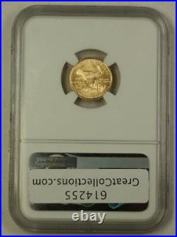 1999-W Emergency Issue $5 American Gold Eagle AGE Coin NGC MS-66 Gem