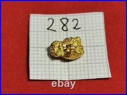 1,020g Alaska Yukon Goldnugget + Zert. Gold Nugget #282 Goldnuggets Coin Barren