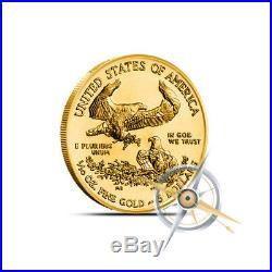 1/10 oz $5 American Gold Eagle Coin Random Year (Our Choice) Gem BU