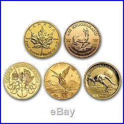 1/10 oz Gold Coin Random Mint SKU#158898