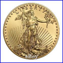 1/2 oz Gold American Eagle Coin Random Date