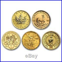 1/4 oz Gold Coin Random Mint SKU#158900