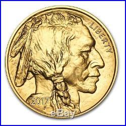 1 oz Gold American Buffalo Coin Random Year Bullion $50 Coin