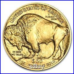 1 oz Gold American Buffalo Coin Random Year SKU #87710