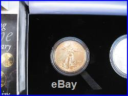 2006-W US American Eagle 20th Anniversary Gold & Silver Two-Coin Set