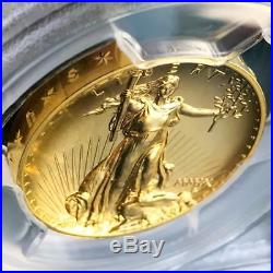 2009 American Liberty Double Eagle Ultra High Relief Gold Coin PCGS MS70 PL Pop8