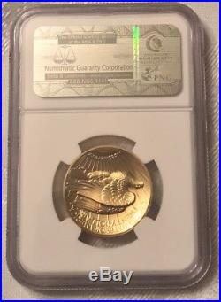 2009 NGC Graded MS70 PL Ultra High Relief $20 Gold Double Eagle Coin! PERFECT