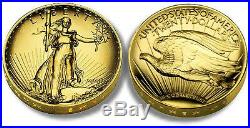 2009 ULTRA HIGH RELIEF UHR DOUBLE EAGLE $20 GOLD SAINT GAUDENS COIN WithBOX & CERT