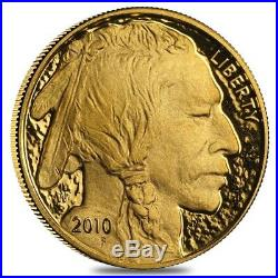2010-W 1 oz $50 Gold American Buffalo Proof Coin (withBox & COA)