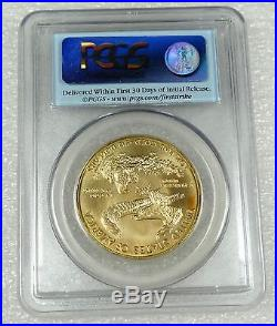 2011 1 oz Gold American Eagle Coin MS-70 First Strike PCGS