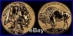 2013 $50 AMERICA BUFFALO ONE OUNCE GOLD REVERSE PROOF COIN 1 OZ. WithCOA @ BOX