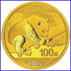2016 8 Gram Chinese Gold Panda Coin (BU)
