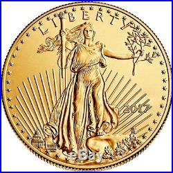 2017 1 oz American Gold Eagle Coin (BU)