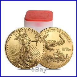 2017 1 oz Gold American Eagle $50 Coin BU