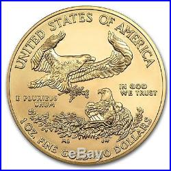 2017 American Gold Eagle 1 oz Gold Coin Direct From US Mint Tube