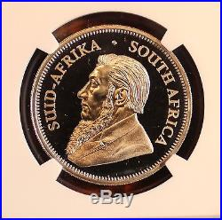 2017 South Africa 1oz Platinum Krugerrand Proof NGC PF70 Ultra Cameo Coin 5oth