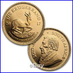 2017 South Africa 3-Coin Krugerrand 50th Anniversary Proof Set SKU #114880
