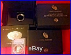 2017 W 1 oz $100 American Liberty High Relief Proof Gold Coin PCGS PR 70 First S