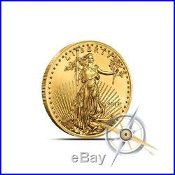 2018 1/10 Oz $5 American Gold Eagle Coin Gem BU Fresh From Mint Rolls