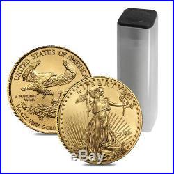 2018 1/10 oz Gold American Eagle $5 Coin BU