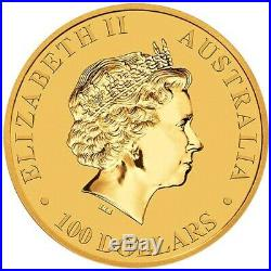 2018 1 oz Australian Gold Kangaroo Coin (BU)