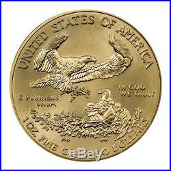 2018 1 oz Gold American Eagle $50 GEM BU Coin SKU50872