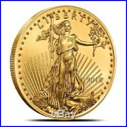 2018 American 1 Oz $50 Gold Eagle Coin Gem Uncirculated (BU)