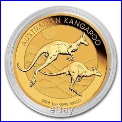 2018 Australia 1 oz Gold Kangaroo Coin BU SKU #157915