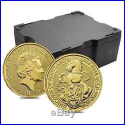 2018 Great Britain 1/4 oz Gold Queen's Beast (Unicorn of Scotland) Coin BU