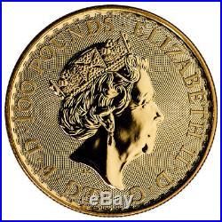 2018 Great Britain 1 oz Gold Britannia £100 Coin GEM BU SKU49807