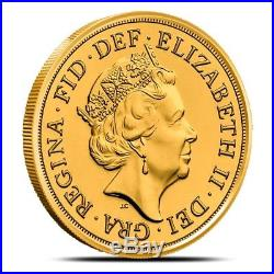 2018 Great Britain (UK) 22 Karat Gold Sovereign Coin Gem Uncirculated BU