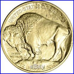 2019 American Gold Buffalo 1 oz $50 BU 1 Roll 20 Coins in Mint Tube